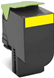 Lexmark 808S Yellow Prebate (80C8SY0) (Genuine)
